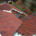 nearly finished full roof job